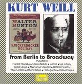 Kurt Weill - From Berlin to Broadway Vol 2