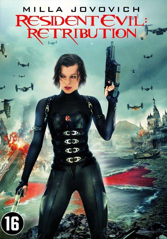 Cover van de film 'Resident Evil: Retribution'