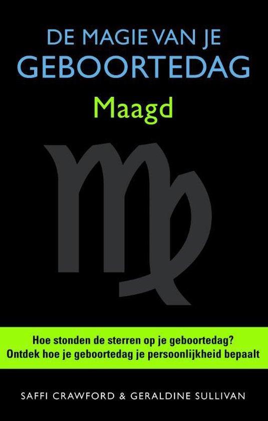 Boek cover De magie van je geboortedag  / Maagd van Saffi Crawford (Hardcover)