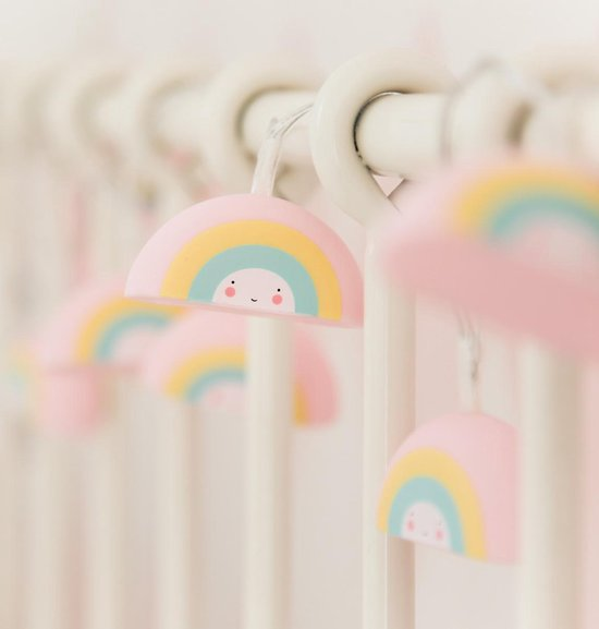 A Little Lovely Company - string light - regenboogjes - Lampjes slinger