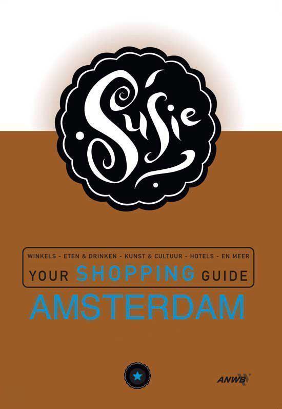 Cover van het boek 'Susie your shopping guide Amsterdam'