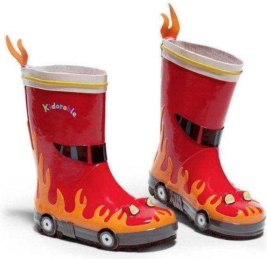 | regenlaarzen brandweerman maat 23