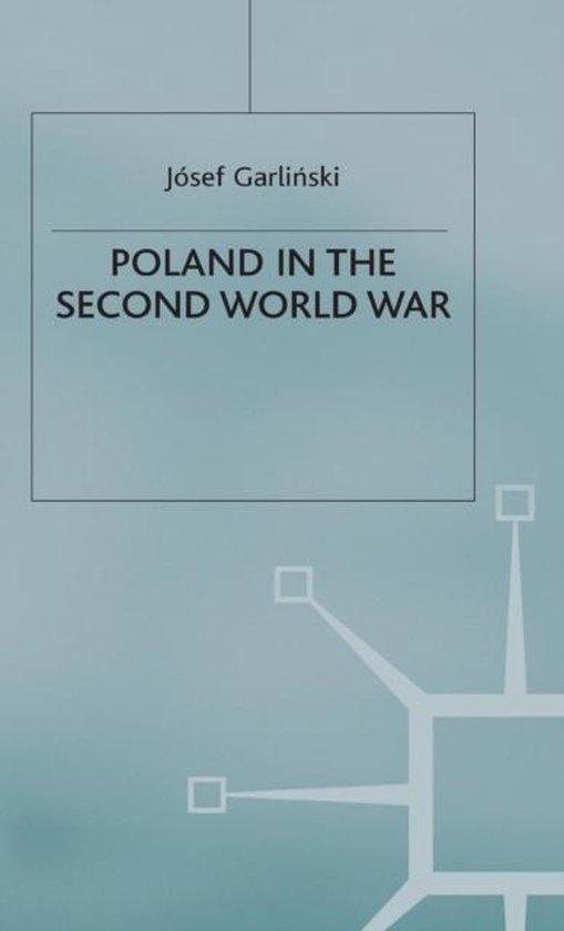 Boek cover Poland in the Second World War van Josef Garlinski (Hardcover)