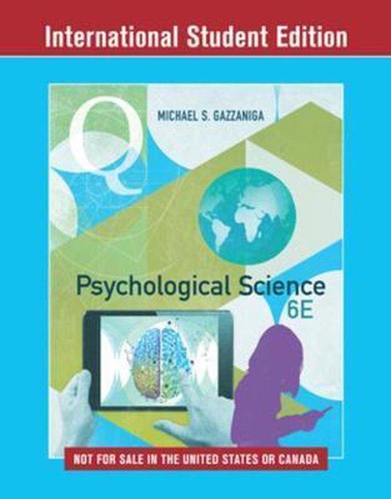 Boek cover Psychological Science van Michael Gazzaniga (Onbekend)