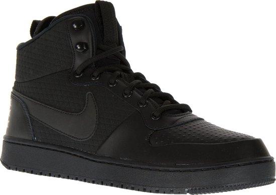 Nike Court Borough Mid Winter Sneakers Maat 44 Mannen zwart