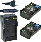 ChiliPower D-Li90 Pentax Kit - Camera Batterij Set