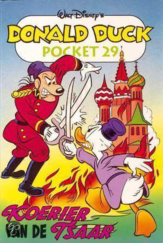 Donald Duck pocket 029 koerier van de tsaar - Disney |