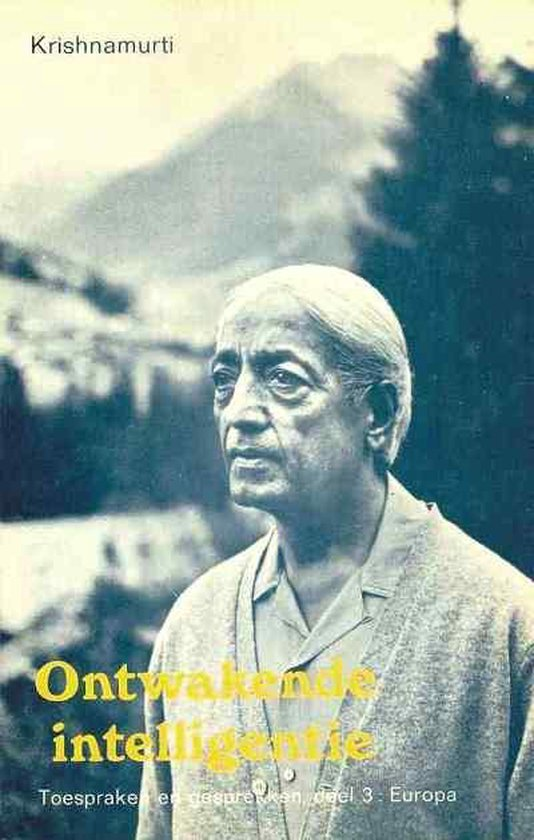 Ontwakende intelligentie - Jiddu Krishnamurti  