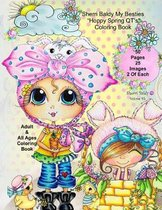 Sherri Baldy My-Besties Hoppy Spring Qt's Coloring Book