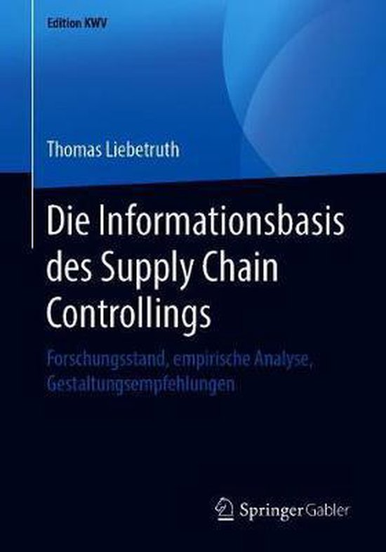 Die Informationsbasis Des Supply Chain Controllings