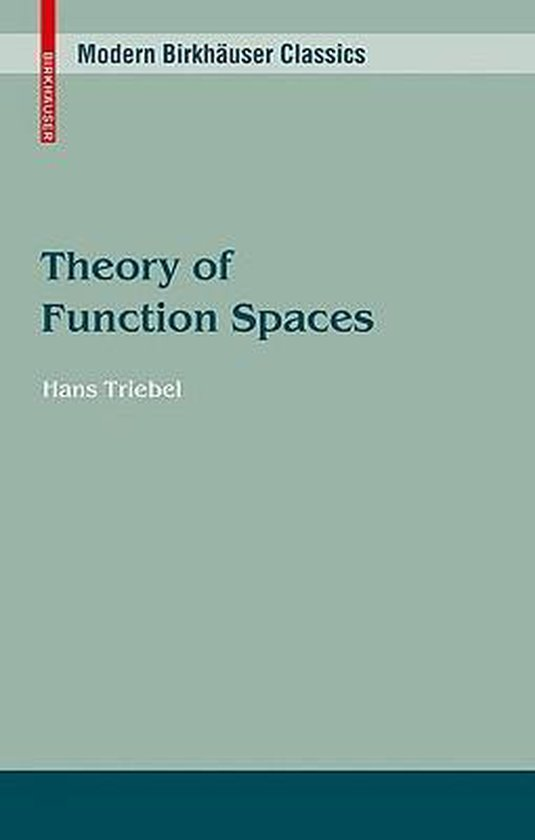 Theory of Function Spaces