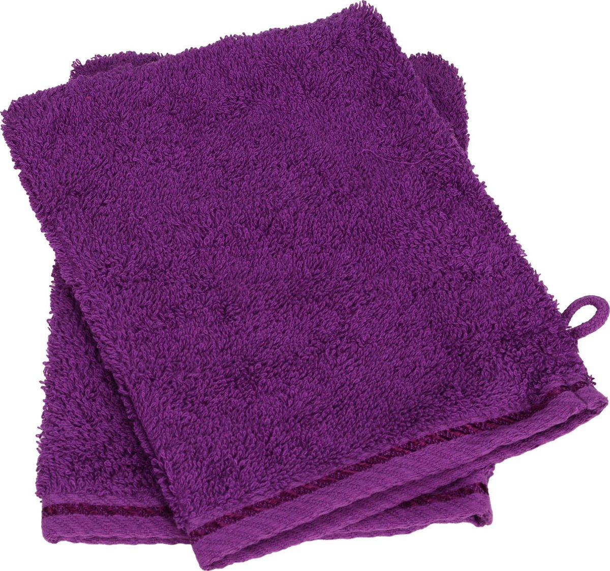 ARTG Towelzz® Washandje 100% Katoen - Aubergine - Set 10 stuks - ARTG Towelzz®