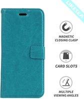 Sony Xperia XZ1 Compact Portemonnee hoesje - Turquoise
