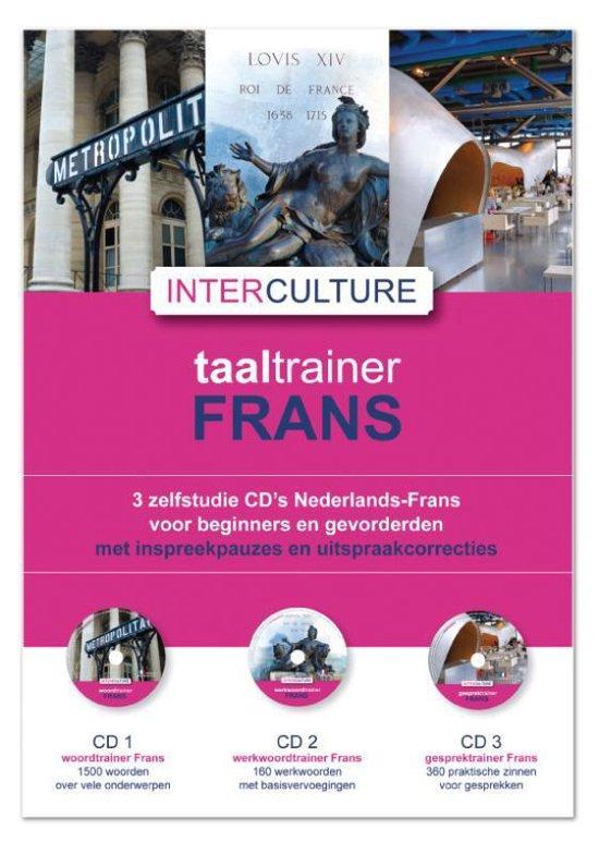 Cover van het boek 'Interculture Taaltrainer Frans 3 CD's'