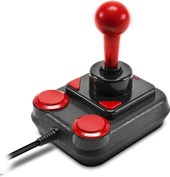 Speedlink Anniversary Competition Pro Extra - USB Joystick - Zwart / Rood