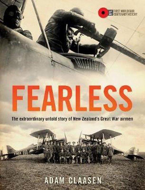 Boek cover Fearless van Adam R. A. Claasen (Hardcover)