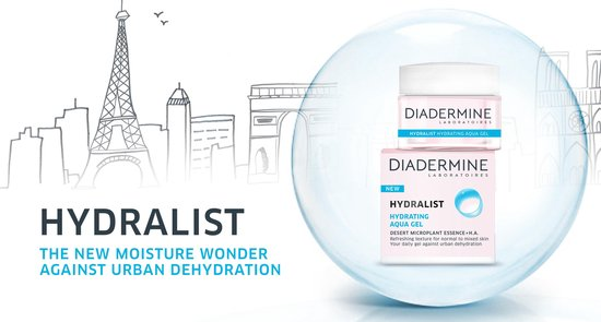 Diadermine Hydralist Reinigingsdoekjes - 6 stuks - Voordeelverpakking - Diadermine