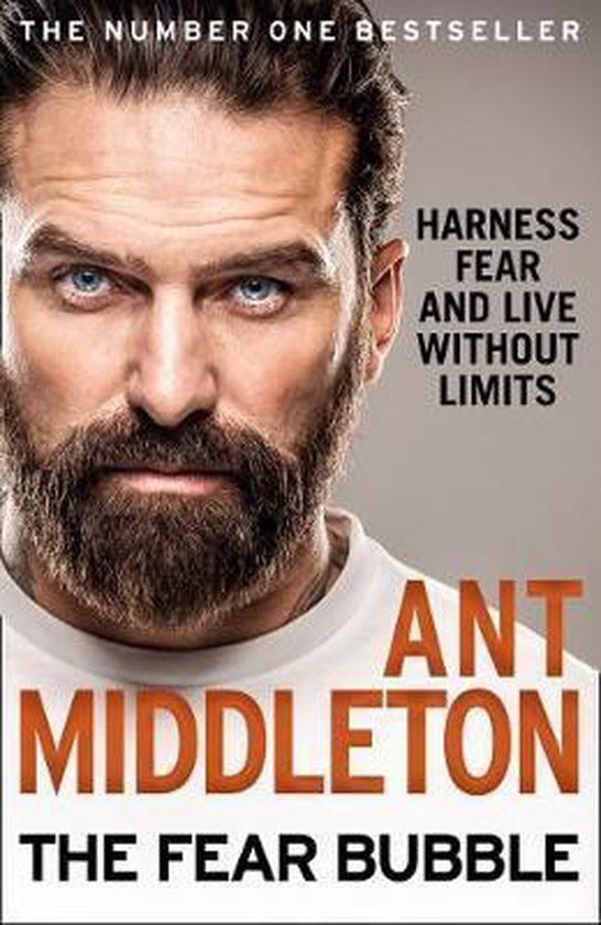 Boek cover The Fear Bubble van Ant Middleton (Hardcover)