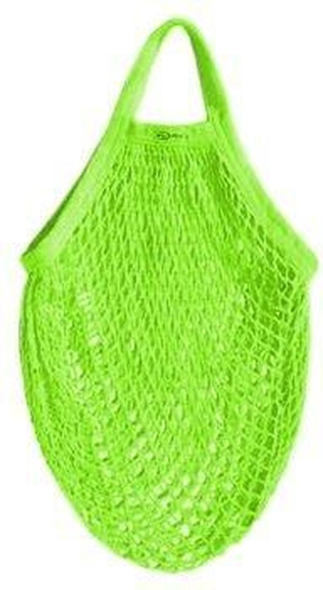 Biologisch Katoenen Boodschappennetje - Groen