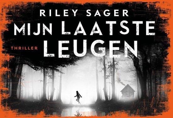 Boek cover Mijn laatste leugen - dwarsligger (compact formaat) van Riley Sager (Onbekend)