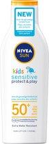 NIVEA SUN Kids Protect & Sensitive Zonnemelk SPF 50+ - 200 ml