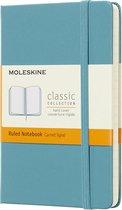 Moleskine Classic Notitieboek Hard cover - Pocket - Lijnen - Blauw