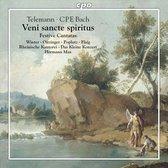 Telemann, C.P.E. Bach: Veni sancte spiritus
