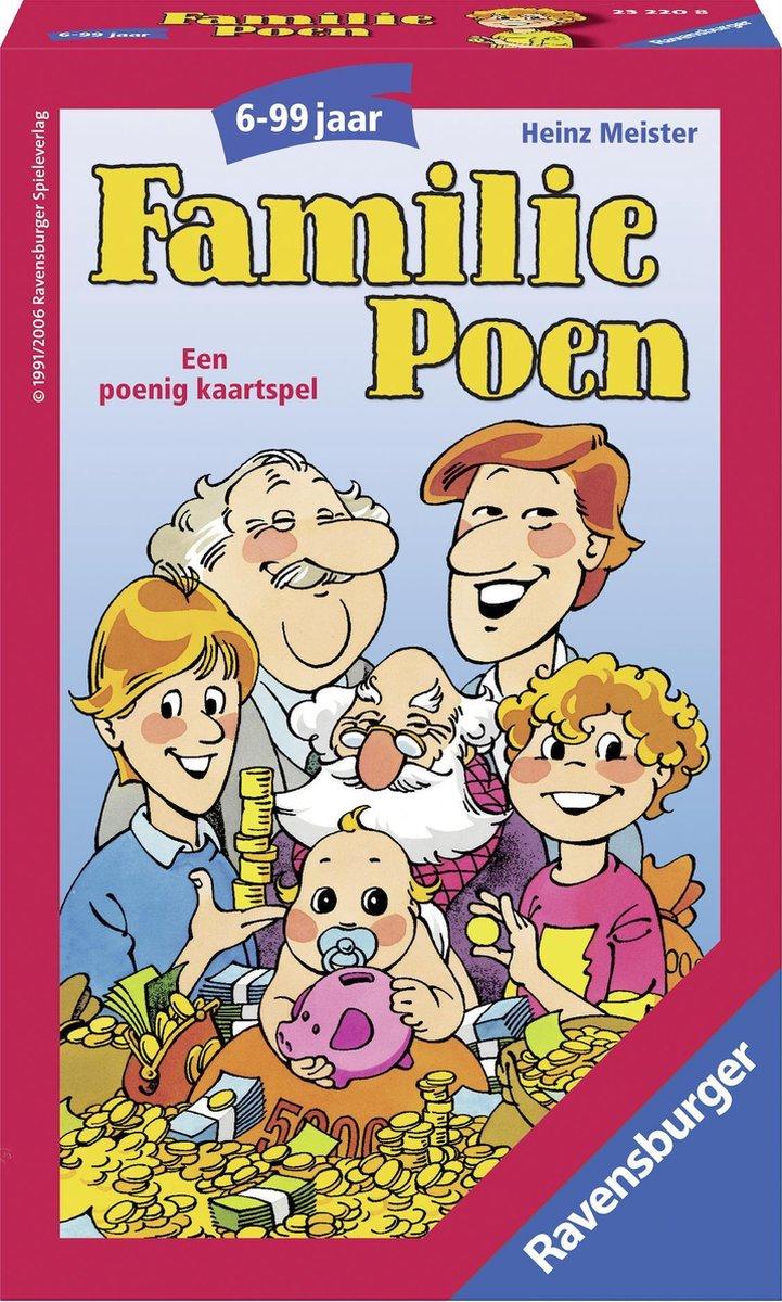 Ravensburger Familie Poen - pocketspel - Ravensburger