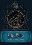 Harry Potter: Magical Creatures Hardcover Blank Sketchbook