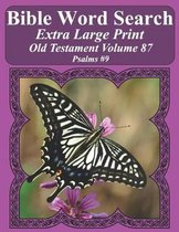 Bible Word Search Extra Large Print Old Testament Volume 87