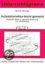 Aufsatzkorrektur-leicht-gemacht. 3./4. Jahrgangsstufe