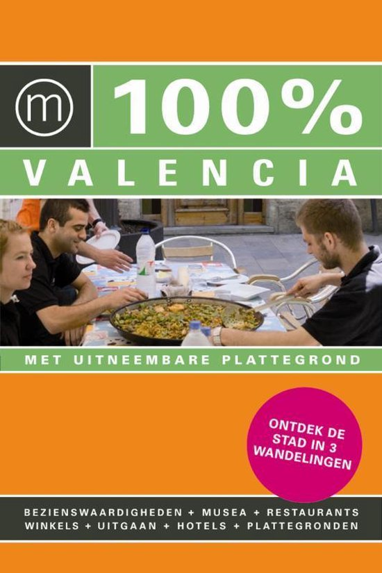 Cover van het boek '100% Valencia' van M. Beerens