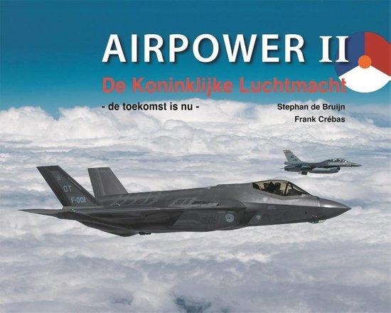 Boek cover Airpower II van Stephan de Bruijn (Hardcover)