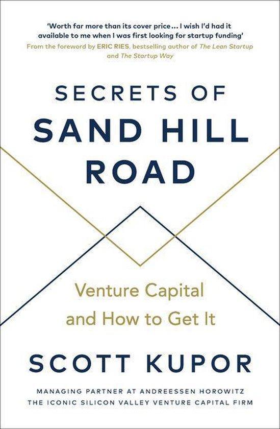Boek cover Secrets of Sand Hill Road van Scott Kupor (Onbekend)