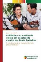 A Didatica No Ensino de Violao Em Escolas de Musica de Santa Catarina