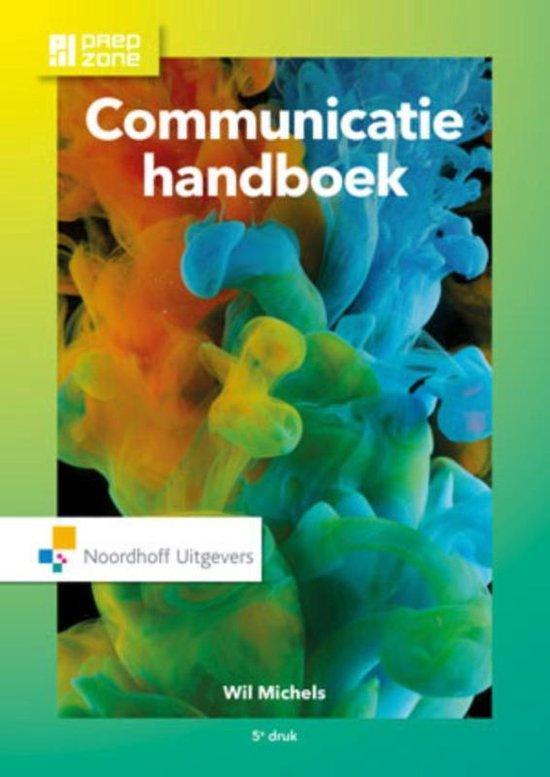Communicatie handboek incl. toegang tot Prepzone - Wil Michels |