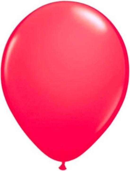 Ballonnen NEON roze 8 stuks