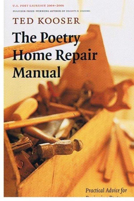 Boek cover The Poetry Home Repair Manual van Ted Kooser (Paperback)