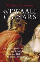 Boek cover De twaalf Caesars van Matthew Dennison