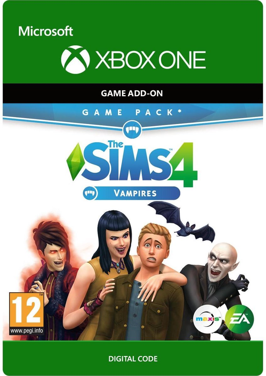 The Sims 4: Vampires - Add-On - Xbox One