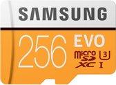 Samsung Evo 256GB micro SD class 10 - met adapter R95MBs/ W90
