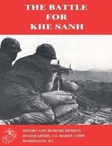 Boek cover The Battle for Khe Sanh van II Usmc Shore, Captain