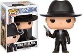 Pop Westworld Man in Black Vinyl Figure