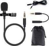 Microfoon voor Smartphone / Telefoon - Aux Aansluiting + Adapter - Condensormicrofoon Comp