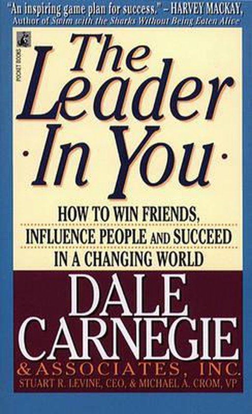 Boek cover The Leader in You van Dale Carnegie (Paperback)