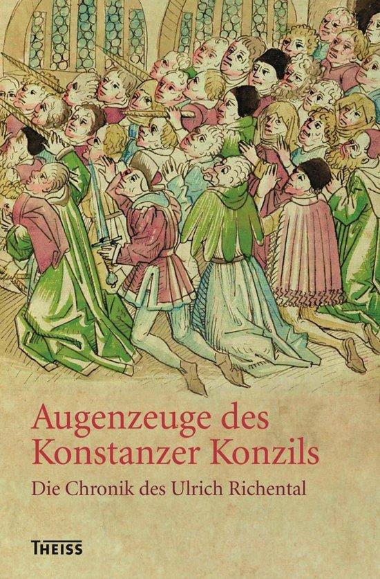 Boek cover Augenzeuge des Konstanzer Konzils van Monika Küble (Onbekend)
