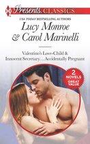 Omslag Valentino's Love-Child & Innocent Secretary...Accidentally Pregnant