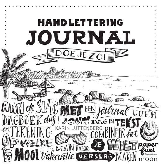 Handlettering journal doe je zo! - Karin Luttenberg |