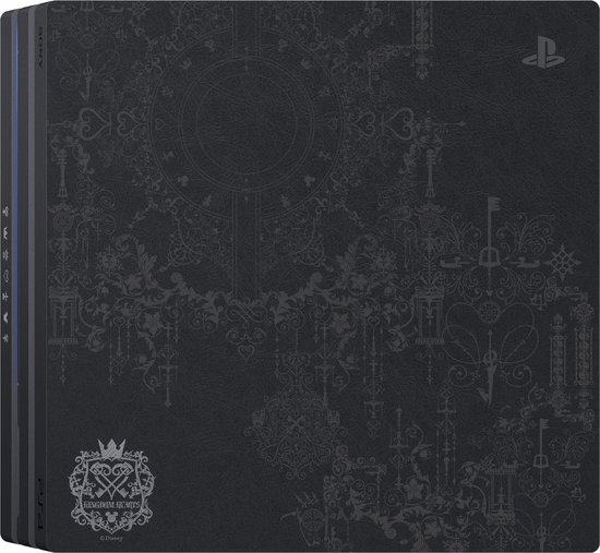 PlayStation 4 Pro Console - Kingdom Hearts III Edition - 1 TB