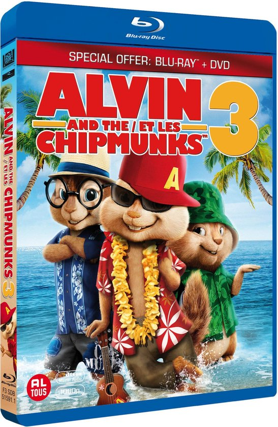 Cover van de film 'Alvin And The Chipmunks 3'